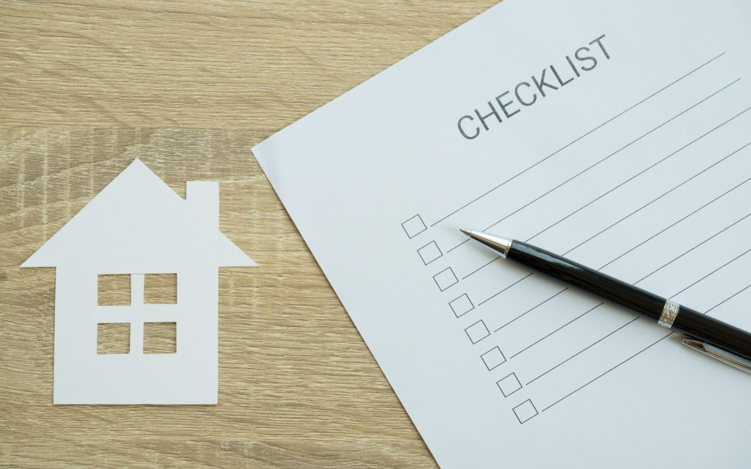 The Bones of the Operation: A Thorough House Inspection Checklist
